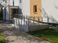 Behinderten gerechte Eingänge