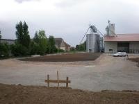 Betonflächen, Industriegebäude
