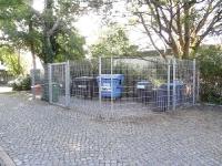 Müllplatzumzäunung